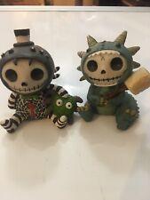 Furrybones Scorchie Dragon Figurine + Itsby Bitty Spider Webster ShipsFree VG