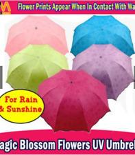 New Magic Parasol Sun/Rain Folding Windproof Umbrella-Gray