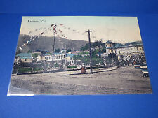 """1909 Hotel LARKSPUR Marin County California BOOSTER DAY Postcard-Picture 17""""x11"""""""