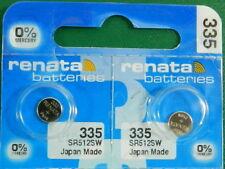 Batteries, 2Pcs Renata 335 Sr512Sw