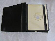 Photo album - black suede cover