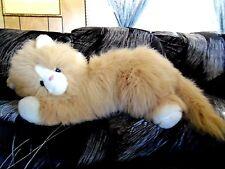 "Giant Jumbo plush stuffed 27""L Persian Cat"