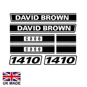 Adhesivo Set Para David Brown 1410 Tractores