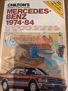 1974-84 Mercedes Benz Chilton Repair Manual