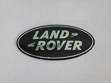NEW FREELANDER 2 LAND ROVER FRONT GRILL / REAR DOOR LARGE BLACK OVAL BADGE 104MM