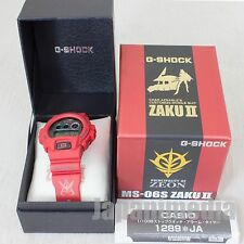 Gundam 30th Anniversary MS-06S ZAKU II Char Model CASIO G-SHOCK JAPAN ANIME