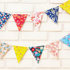 FLOWER PAPER GARLAND DIY KIT / Bunting Craft Birthday Party Garden Decoration