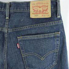 Mens Levis 569 Blue Jeans Loose Straight Leg Denim Red Tab 30x32 Actual 30x31