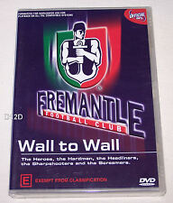 Fremantle Dockers AFL Team Wall To Wall DVD New