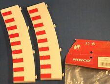 Ninco inner R4 ( std)  Borders PAIR  - Used 10211