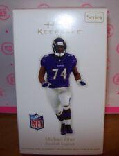2012 Hallmark KEEPSAKE CHRISTMAS Ornament NFL FOOTBALL MICHAEL OHER NEW IN BOX
