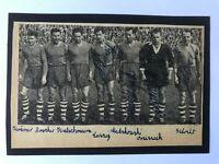 4 Autogramme SCHALKE 04 56/57-Klodt/Matzkowski/Orzessek/Laszig-Mannschaftbild