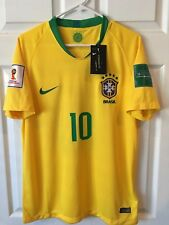 Brazil Home Neymar Jr 2018 World Cup Edition Brand new with tag Men Size S