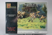 YH060 PEGASUS HOBBIES 1/72 maquette figurine 7202 Waffen SS 1943 Kursk L.A.H.