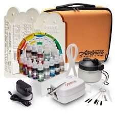 Airbrush Cake Decorating Kit  inc. Machine, Colours, Case & Cleaning Station