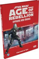 FFGSWA53 Star Wars RPG: Age of Rebellion - Cyphers and Masks Hardcover