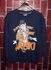 Duck Dynasty Sy Sweatshirt Medium Navy Blue That's What I'm Talking about Jack