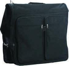 """48"""" Black Suit Dress Garment Storage Rip Resistant Luggage Clothes Bag Suitcase"""