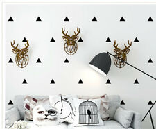 Wallpaper White Triangle Nursery Shop Fitting Decoration 10m simple kid room