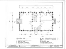 Colonial Williamsburg Cottage - Architectural Plans