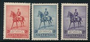 Australia 1935 Silver Jubilee SG 156-158 MNH