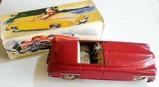 VINTAGE TIN TOY WIND UP DISTLER FORD CABRIOLET MADE IN U.S. GERMANY BOXED