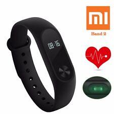 100 Original Xiaomi Mi Smart Wrist Watch Band 2 Heart Rate Monitor Bluetooth