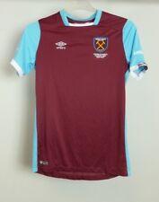 Umbro 2016-2017 West Ham Home Football Shirt Kids Personalised EWAN CR182 AA 13