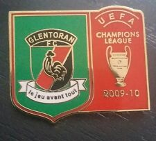 Glentoran UEFA Champions League de Metal Pin Insignia fútbol irlandés Irlanda del Norte