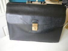 cartable en cuir noir Jelen vintage style sacoche de médecin