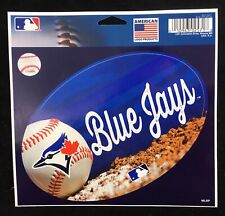 "New MLB Baseball Toronto Blue Jays Oval Vinyl Decal 5.5"" X 3.75"" Canada Sticker"