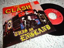 "The Clash 1st Edition 45RPM Music 7"" Single Records"