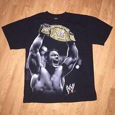 VTG John Cena Wrestling Tank Top Shirt Mens Large WWE WWF Black RARE