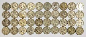 Roll of War Nickels 40 Coins 181842B