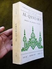 AL-QANTARA Revista de estudios Arabes Vol. 3 Fasc. 1-2