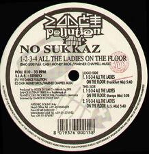 NO SUKKAZ - 1-2-3-4 All The Ladies On The Floor - 1995 Dance Pollution  POLL 010