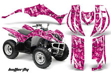 ATV Decal Graphic Kit Quad Sticker Wrap For Yamaha Wolverine 450 06-12 BFLY PINK