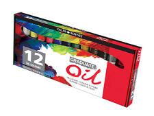 Daler Rowney Licenciado Aceite Color Set - 12 X 22ml