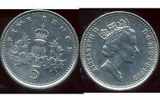 ROYAUME UNI   five   5  pence 1992  ( bis )