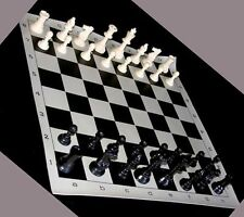 10  STANDARD TOURNAMENT CHESS SET SETS PIECES BOARD NEW