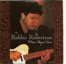 ROBBIE ROBERTSON What About Now USA 2TR PROMO CD