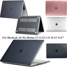 "For MacBook Pro 13"" 15"" Air 11"" 12"" Case Crystal Slim Hard Plastic Cover Shell"