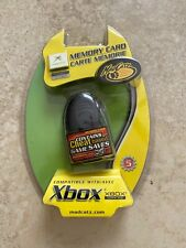 Xbox Classic Memory Card Mad Catz With Game Cheats New