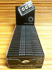 OCB SchwarzPremium Zigarettenpapier Papier 25 x 100 Blättchen Drehpapier