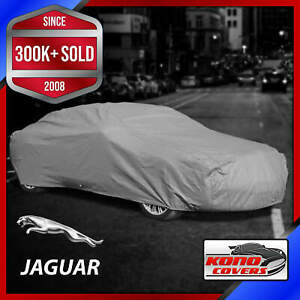JAGUAR [OUTDOOR] CAR COVER ✅ All Weather ✅ Waterproof ✅ Full Body ✅ CUSTOM ✅ FIT