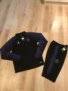 Brand New Jordan x PSG Training Tracksuit New With Tags Blue Size Small