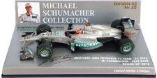 Minichamps Mercedes F1 W03 'Last Race' Brazil GP 2012 - Michael Schumacher 1/43