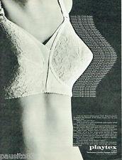PUBLICITE ADVERTISING 115  1976  PLAYTEX  soutien gorge sous vetements