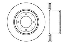 Centric Parts 121.65114 Rear Disc Brake Rotor