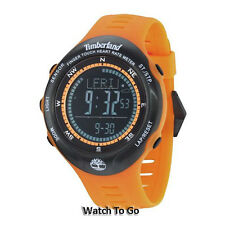 NEW TIMBERLAND WATCH for MEN * Compass/Alarm/Chronograph/Light 13386JPOB/02 $269